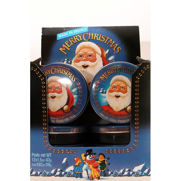 "Coffret Noël ""Merry Christmas"" - Boîtes Assorties (x12)"