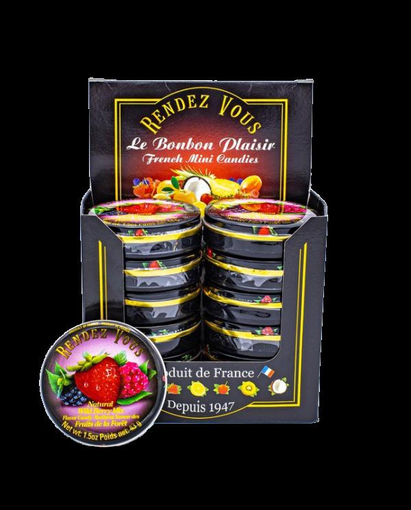 Coffret Rendez Vous Fruits de la Fôret (x12)