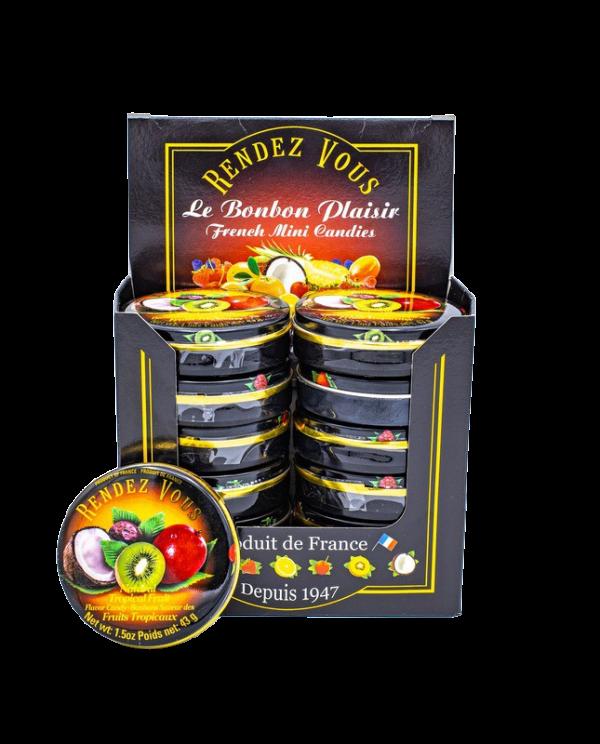 Coffret Rendez Vous Fruits Tropicaux (x12)