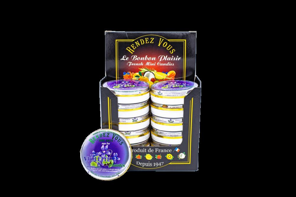 Violet Sugar Free Candies (x12)