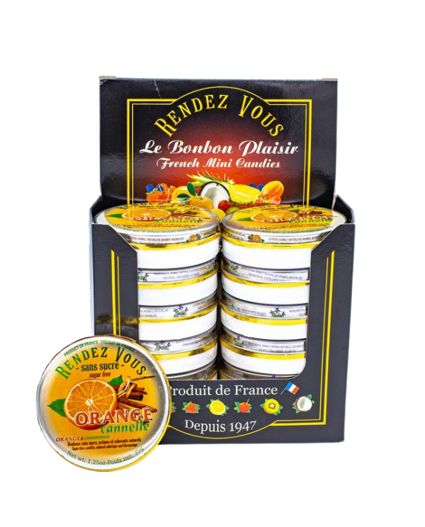 Coffret Rendez Vous Sans Sucre Orange Cannelle (x12)