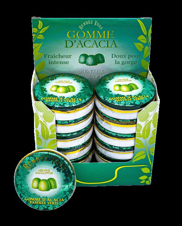 Gommes Vertes BIO - Coffret x12