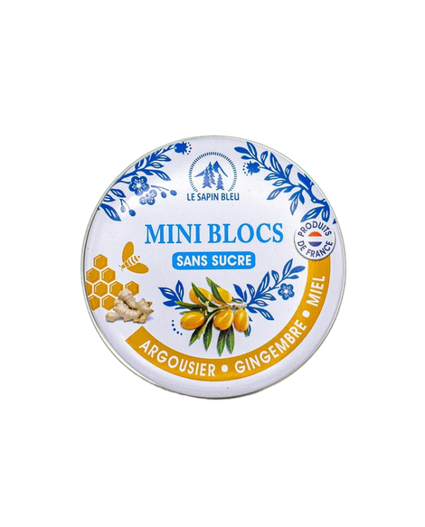 Mini Blocs Argousier Gingembre Miel