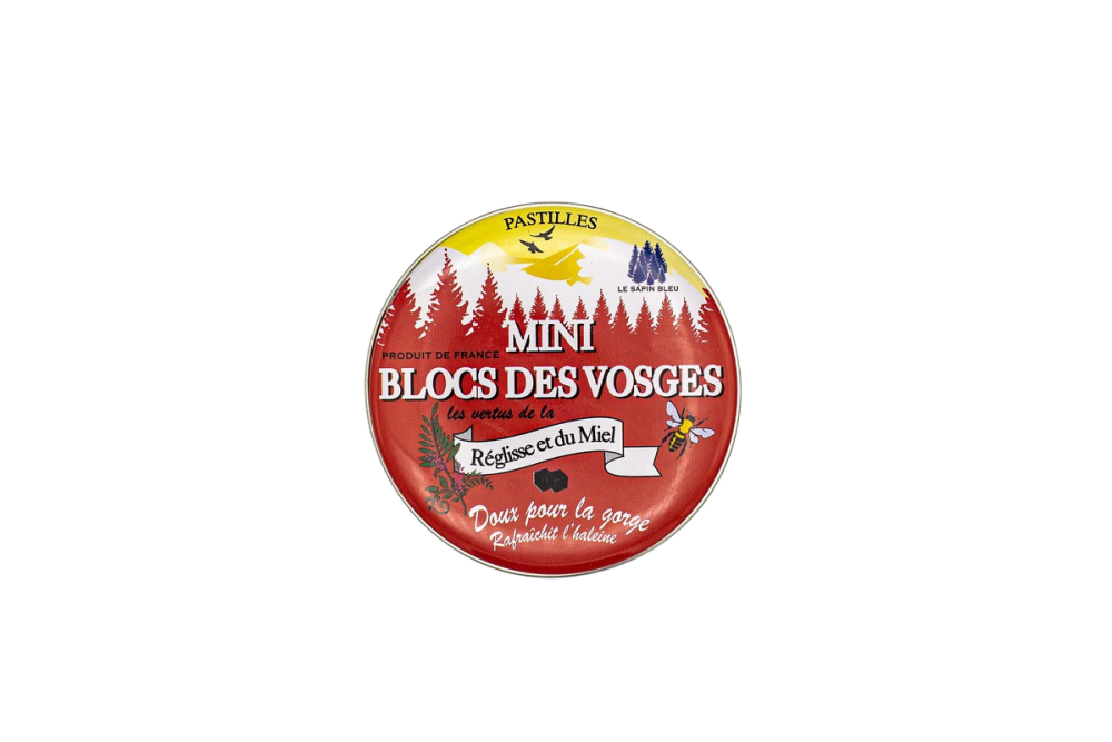 Mini Blocks of Vosges Licorice Honey